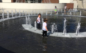 Grand Park Fountains, Downtown Los Angeles