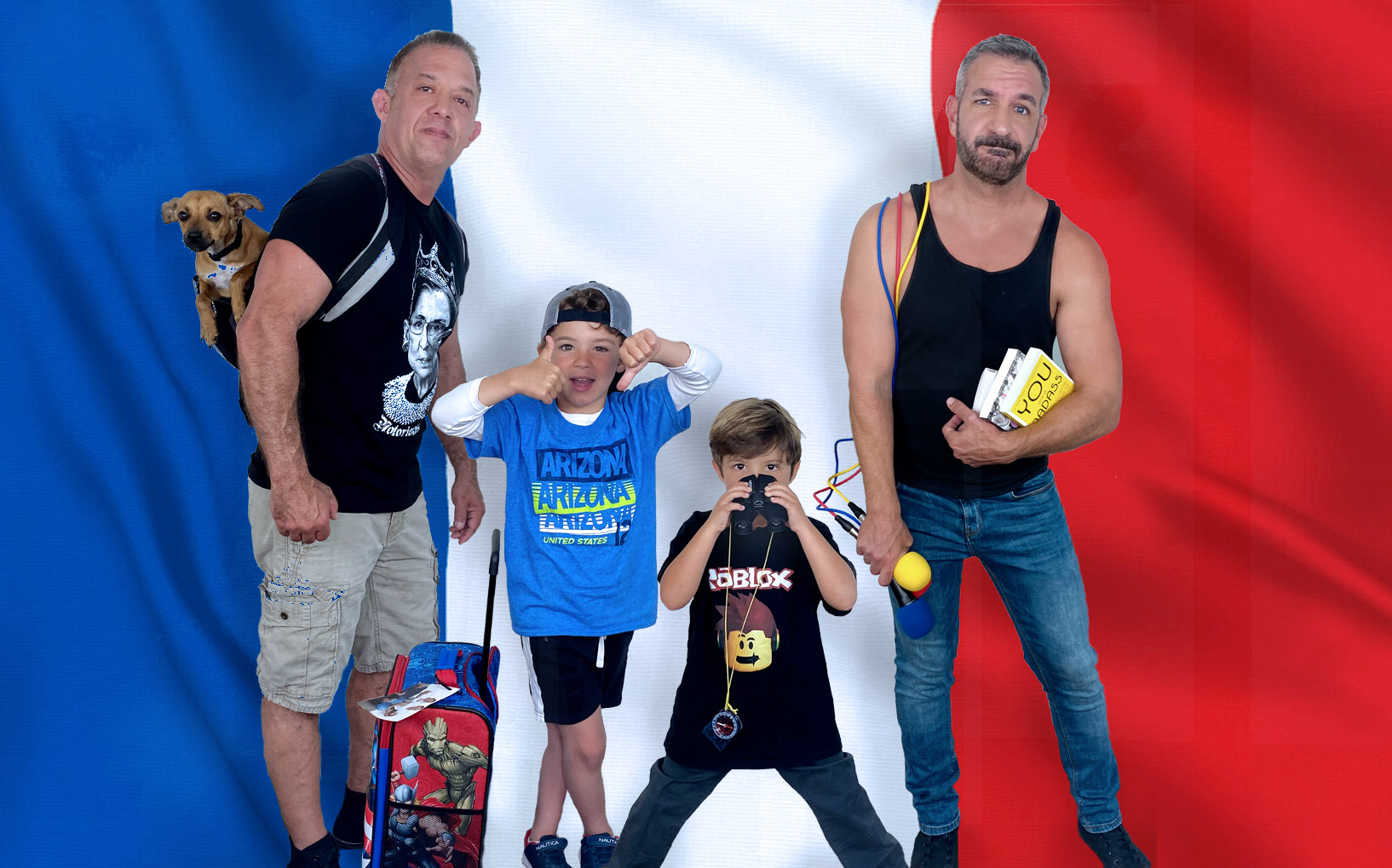 Daddy Squared Around The World: France