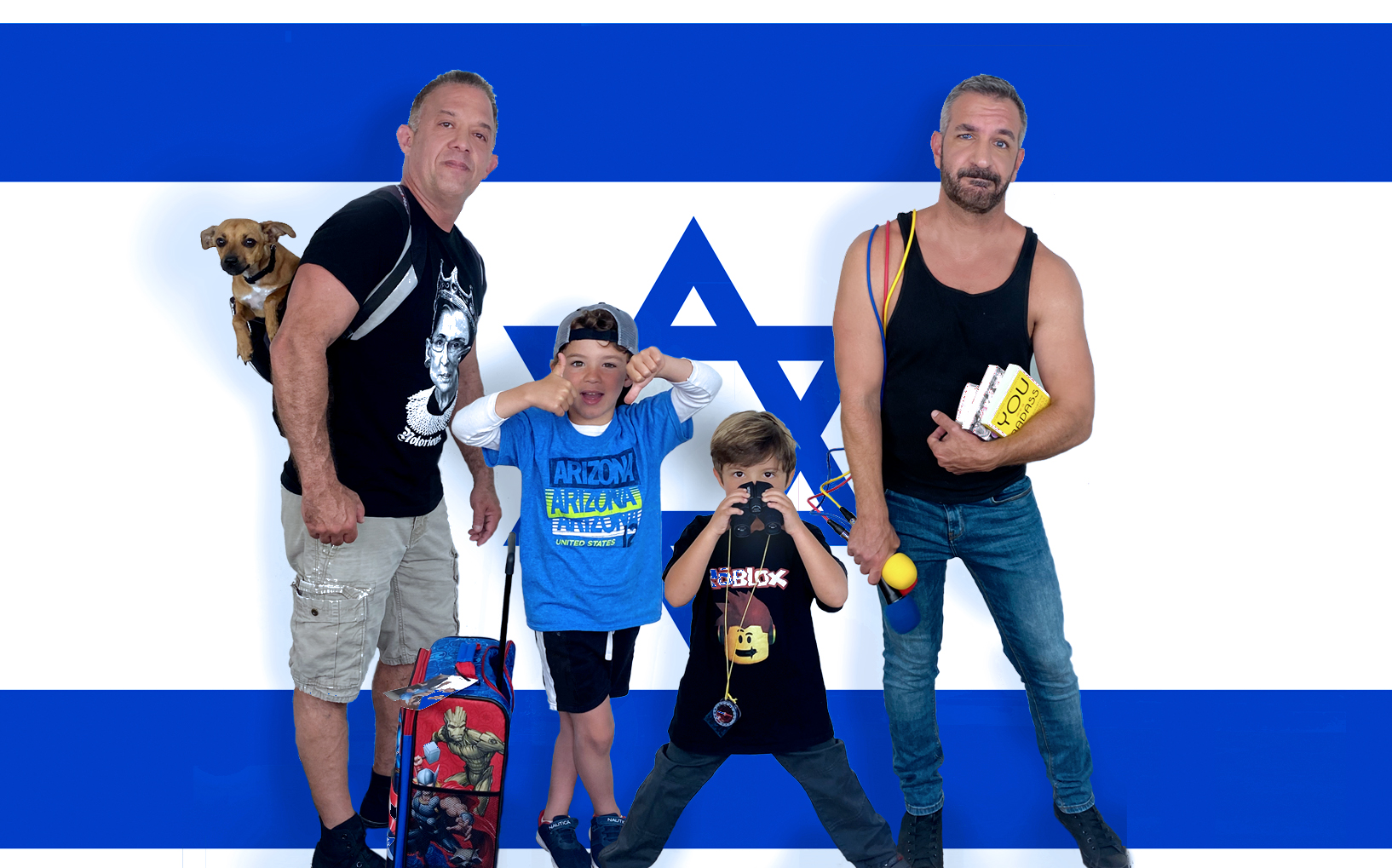 Daddy Squared Around The World: Israel