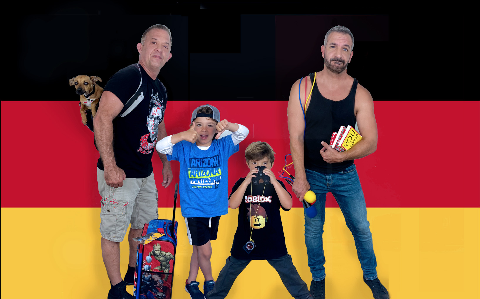 Daddy Squared Around the World: Germany