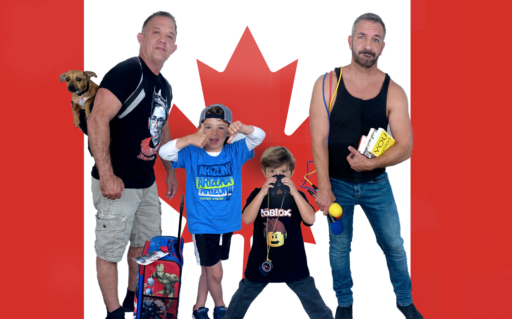 Daddy Squared Around the World: Canada