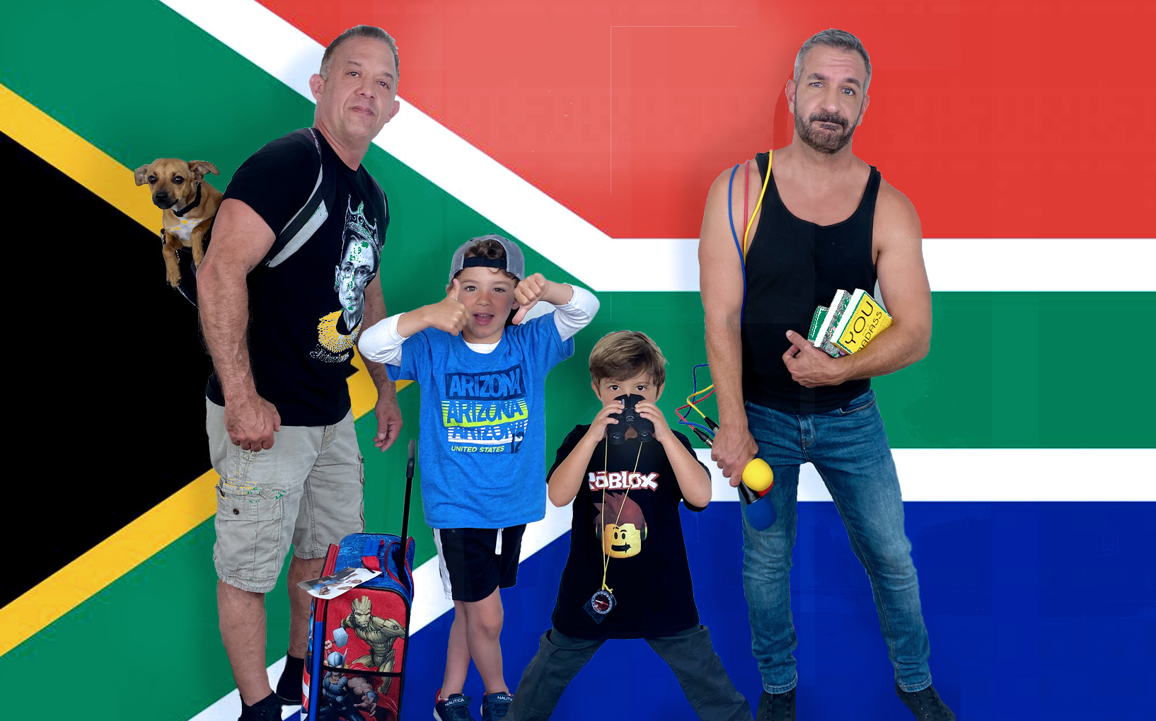 Daddy Squared Around the World: South Africa
