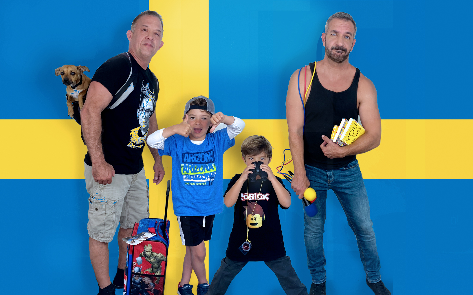 Daddy Squared Around The World: Sweden