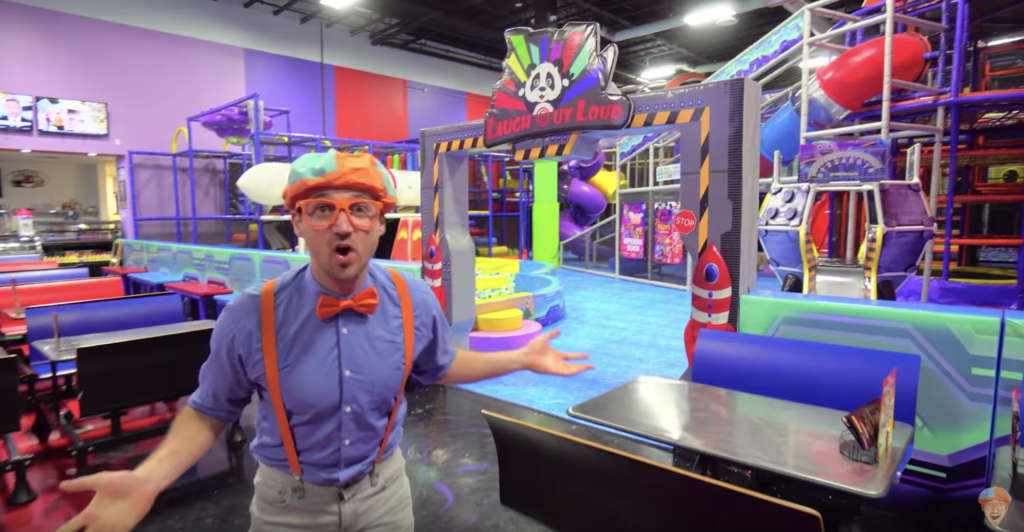 Vegas with Kids: Blippi goes to LOL Kids club