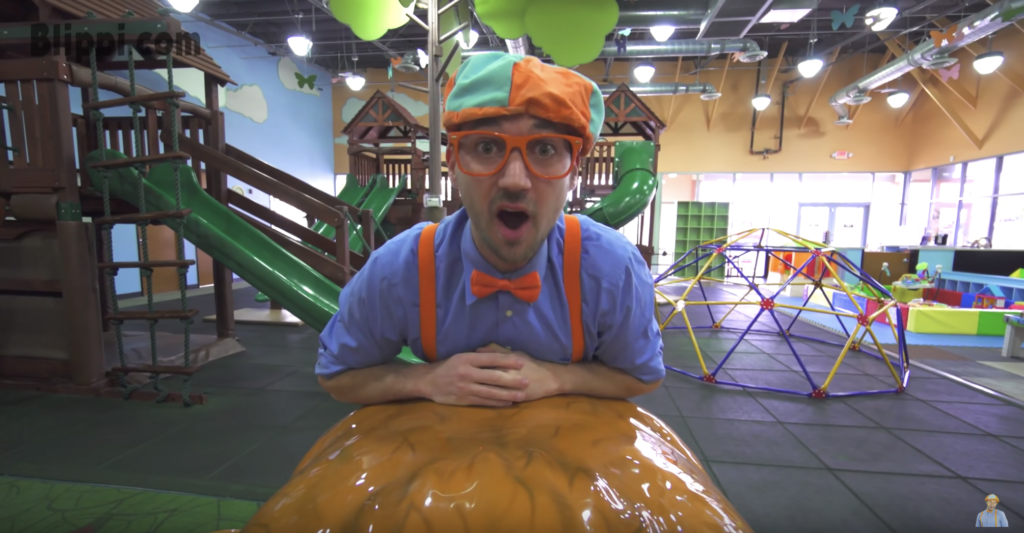 Vegas With Kids: Blippi goes to Kids Time Indoor Play
